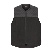 Icon Chamonix Denim Vest Black