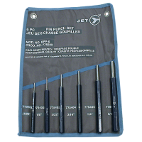 JET Tools 6 Piece Pin Punch...