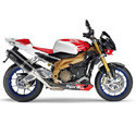 06-11 Aprilia Tuono 1000 Arrow Motorcycle Exhasust