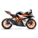 17-18 KTM RC390 Arrow Motorcycle Exhaust