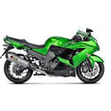 Kawasaki ZX14R Graves Motorcycle Exhaust