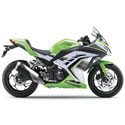 Kawasaki Ninja 250R Graves Motorcycle Exhaust