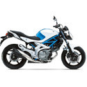 09-11 Suzuki SVF 650 M4 Performance Motorcycle Exhaust