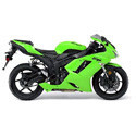 07-08 Kawasaki ZX6R Scorpion Motorcycle Exhaust