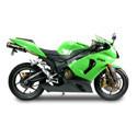 05-06 Kawasaki ZX6R Scorpion Motorcycle Exhaust