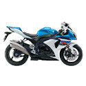 09-11 Suzuki GSXR 1000 Scorpion Motorcycle Exhaust