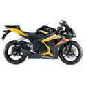 06-07 Suzuki GSXR 750 Scorpion Motorcycle Exhaust
