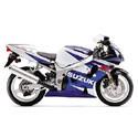 01-03 Suzuki GSXR 600 Yoshimura Motorcycle Exhaust
