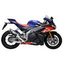 Aprilia LighTech Adjustable Motorcycle Racing Rearsets