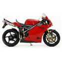 Ducati 748/916/996/998 Woodcraft Racing Adjustable Motorcycle Rearsets