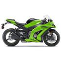 Kawasaki Driven Racing Motorcycle Axle Block Sliders