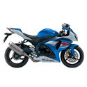 Suzuki Driven Racing Motorcycle Axle Block Sliders