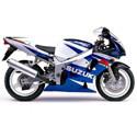 10-03 Suzuki GSXR 600/750 Shogun Motorsports Motorcycle Frame Sliders