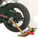 Pit Bull Motorcycle Racing Trailer Restraint and Accessories