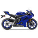 08-16 Yamaha YZF-R6 Ohlins Motorcycle Suspension
