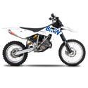 08-10 BMW G450X Cox Racing Aluminum Motorcycle Radiator Guards