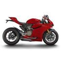 Ducati Cox Racing Aluminum Motorcycle Radiator Guards