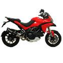 Ducati Multistrada 1200 Cox Racing Aluminum Motorcycle Radiator Guards