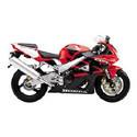 01-02 Honda CBR 929RR Cox Racing Aluminum Motorcycle Radiator Guards