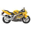 99-07 Honda CBR 600 F4/F4i Cox Racing Aluminum Motorcycle Radiator Guards