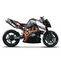 05-10 KTM Superduke Cox Racing Aluminum Motorcycle Radiator Guards