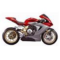MV Agusta Cox Racing Aluminum Motorcycle Radiator Guards