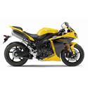 98-14 Yamaha YZF-R1 Cox Racing Aluminum Motorcycle Radiator Guards