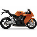 KTM RC8R Samco Sport Motorcycle Silicone Hoses
