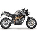 Aprilia Shiver Akrapovic Motorcycle Exhaust